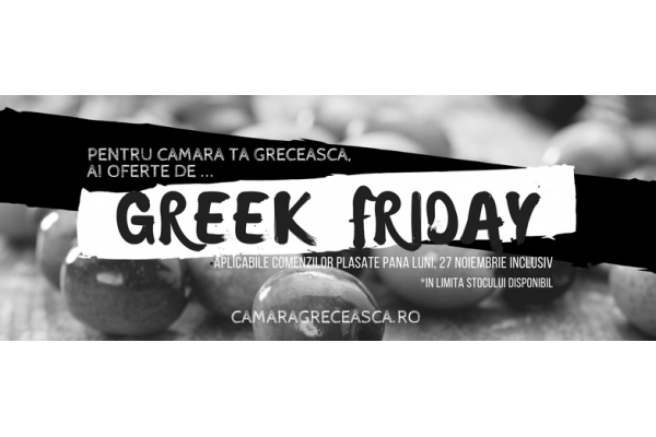 Greek Friday!