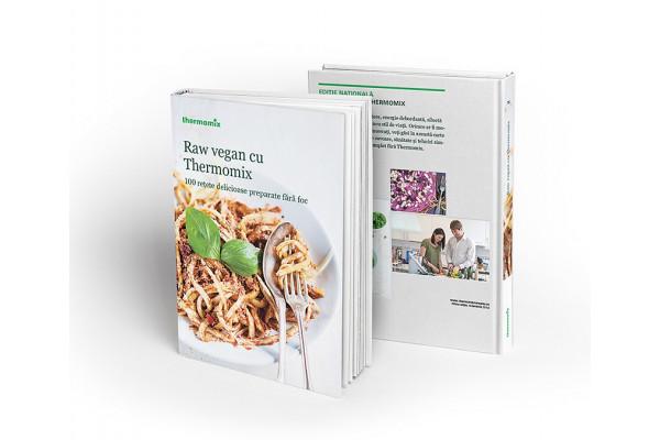 100 de Retete Delicioase Preparate fara Foc. Raw Vegan cu Thermomix