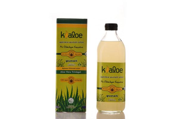Aloe Vera Gel Organic Natural, 1L